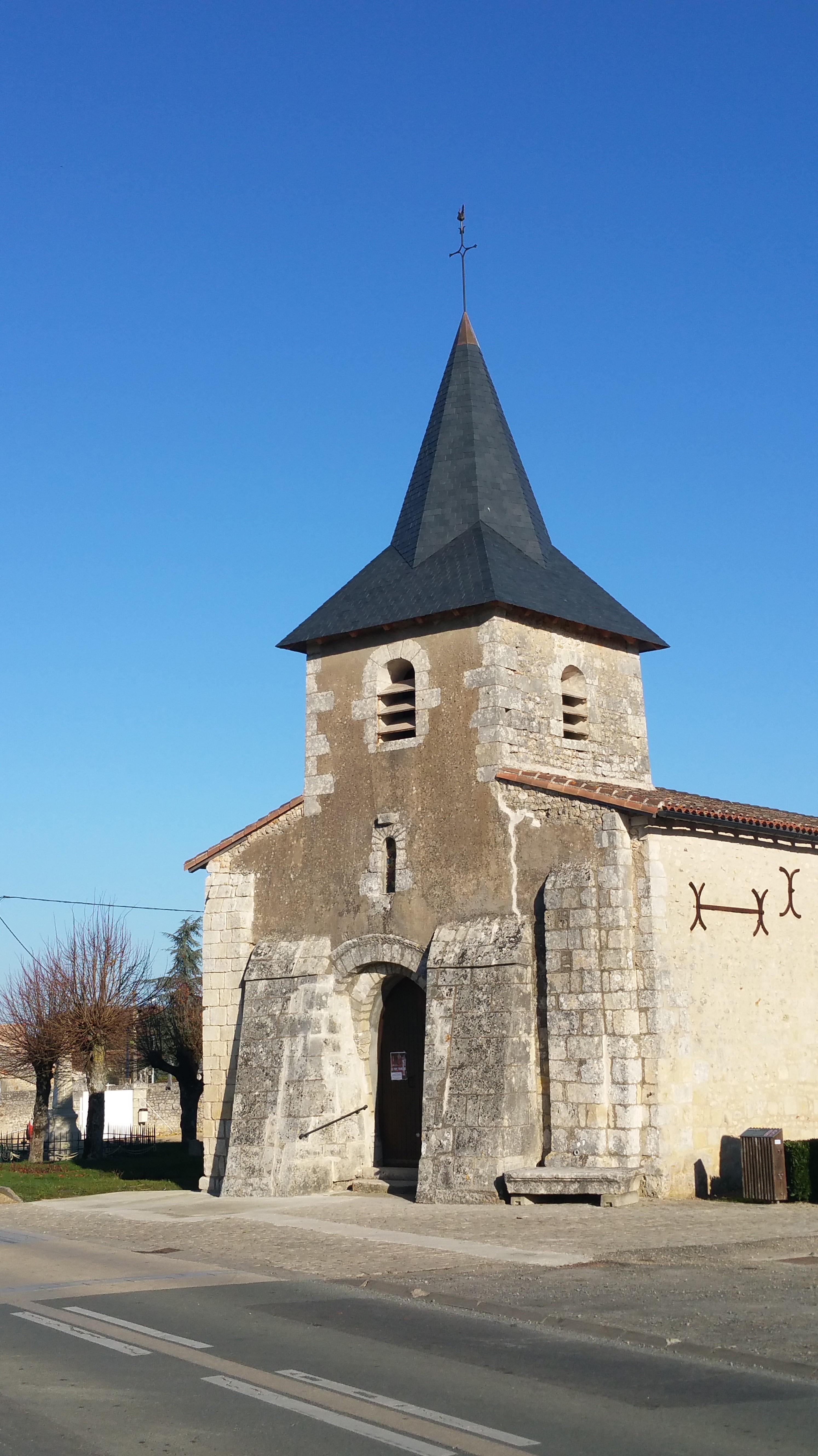 Réfection clocher église Liniers